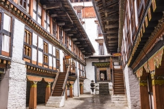the dzong of jakar, Bhutan