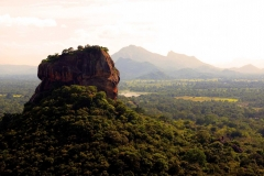 The monument of Sigiriya rock. Sri Lanka. Asia.